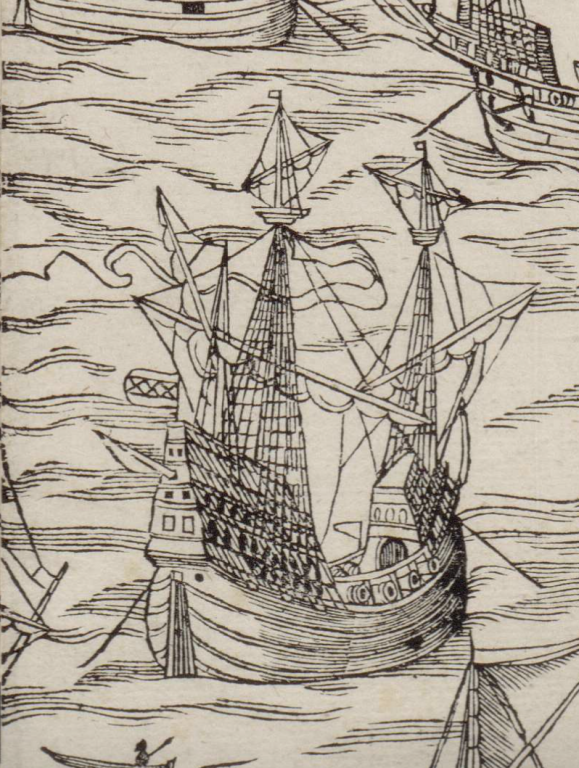 1544 map of amsterdam ship detail 10 amsterdam galleon or great ship .png