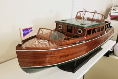 1929 38ft Chris-Craft Commuter by drobinson02199 - Dumas - Scale 1:121