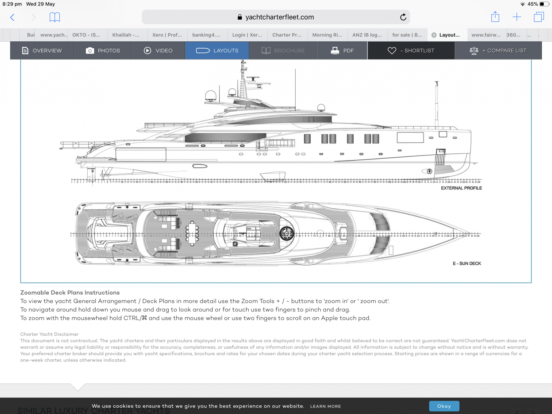 Sapphire by Omega1234 - 1/388 scale - Mega-yacht 66m (8 inch