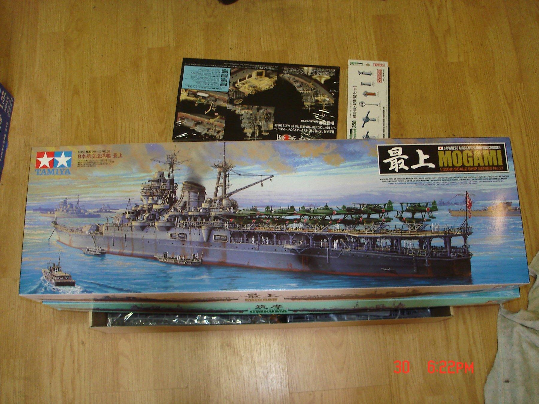 Yukikaze by Javlin - FINISHED - Hasegawa - 1/350 - Japanese