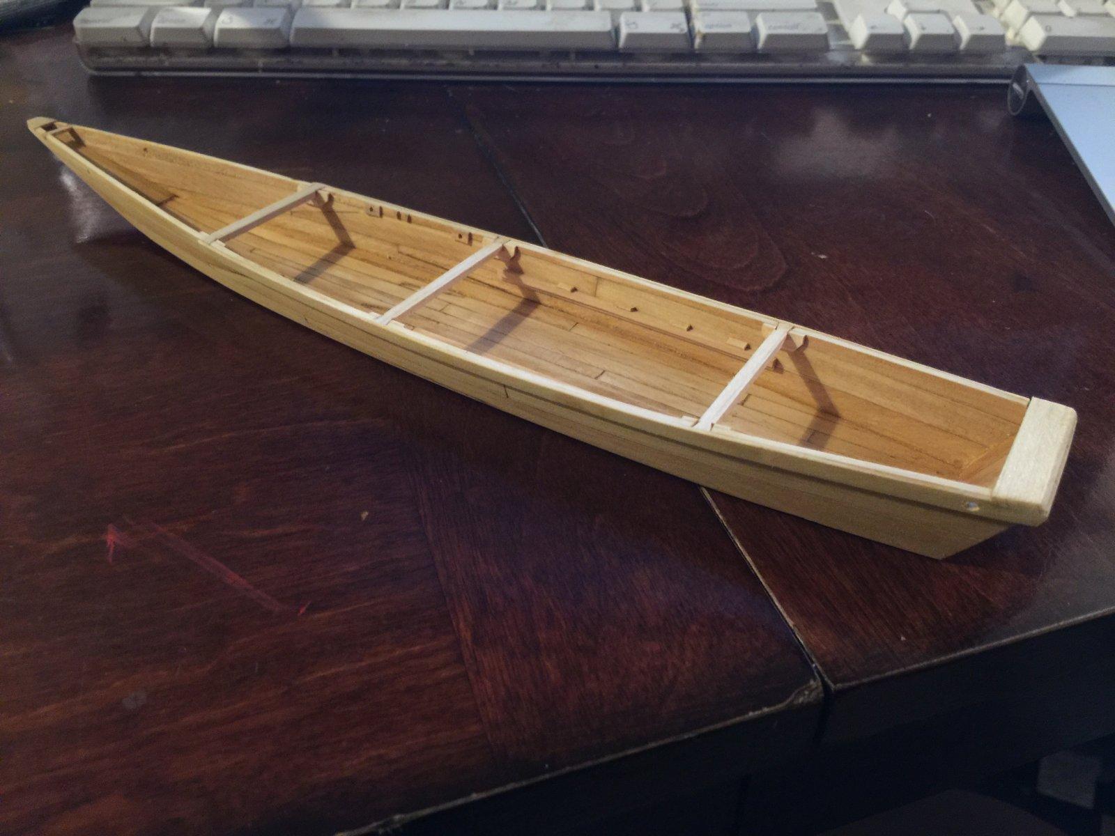 Hozugawa Downriver Boat - 1/40 scale