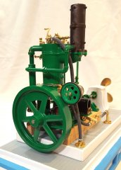 Model includes the optional friction-drive generator.