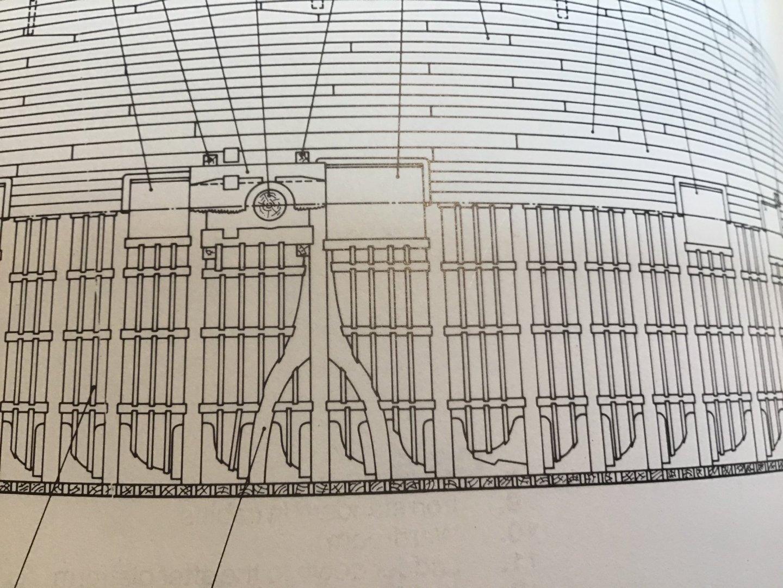 Mess deck of HMS Pandora (Anatomy of theShip, McKay)