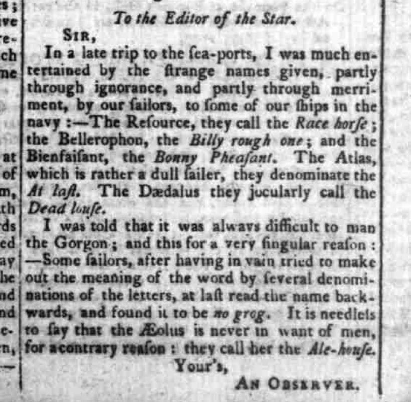 Chester Chronicle dated Friday 26 April 1799.JPG