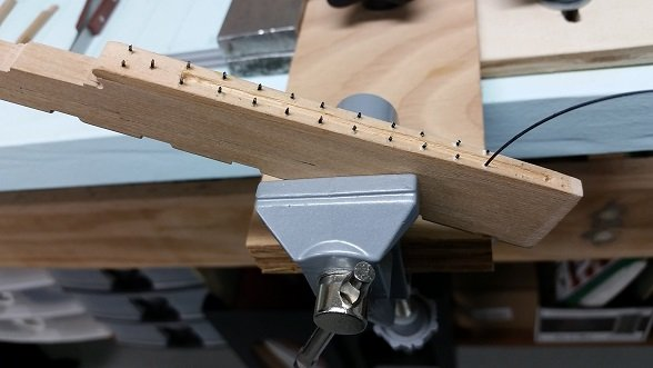 4 - installing faux bolts in the backing plate.jpg