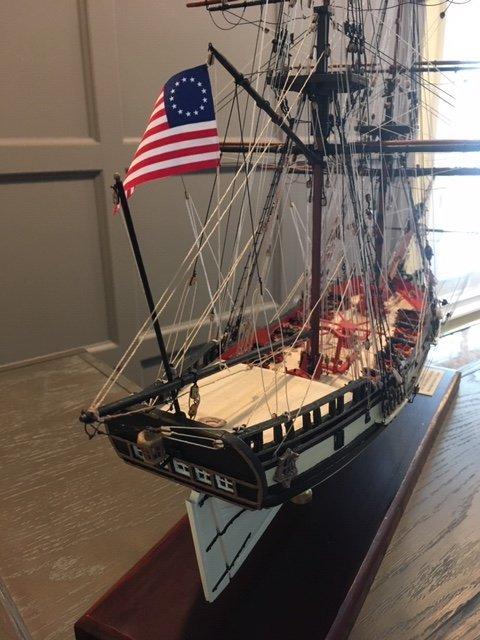 Fair American 1780 18th Century War Brig