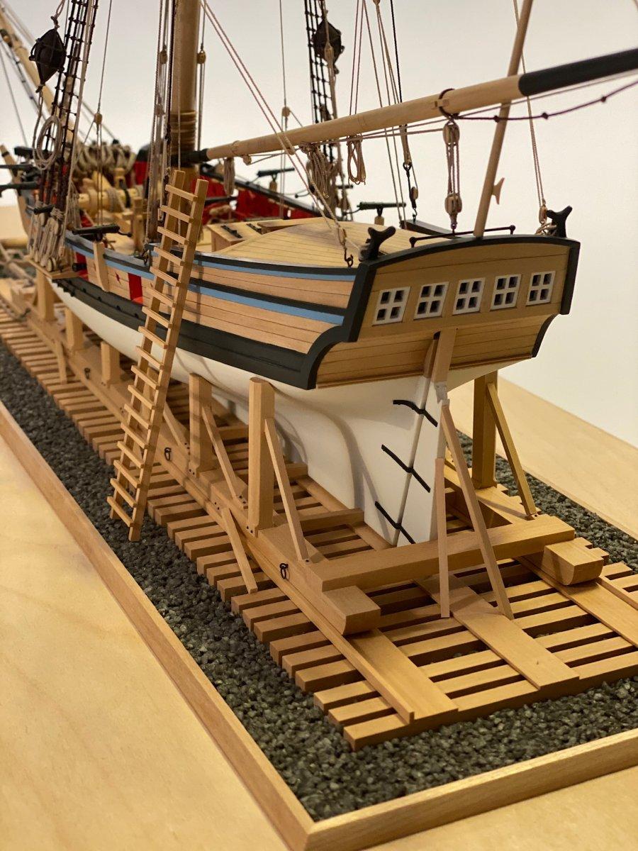 Armed Virginia Sloop  - Model Shipways - 1:48 Scale