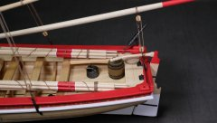 18th C. Armed Longboat by Justin P. - Model Shipways - Scale 1:24