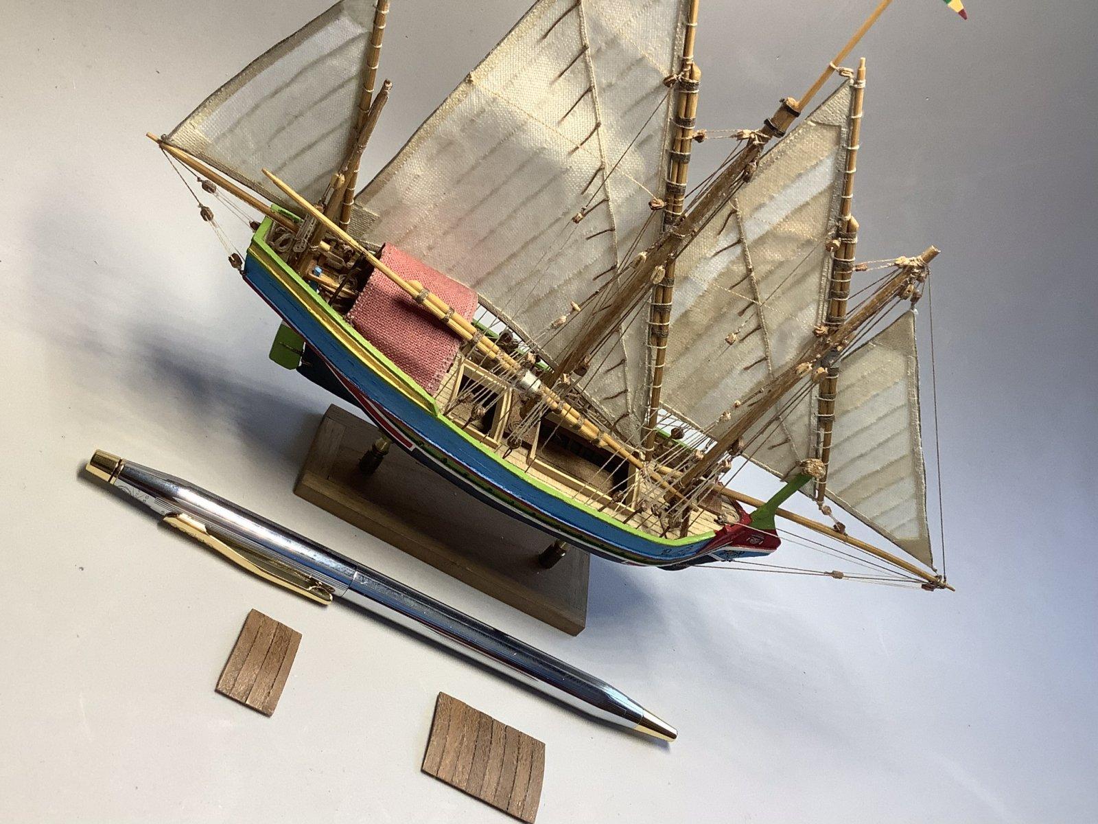 """Speronara"",  maltese boat 1/150"