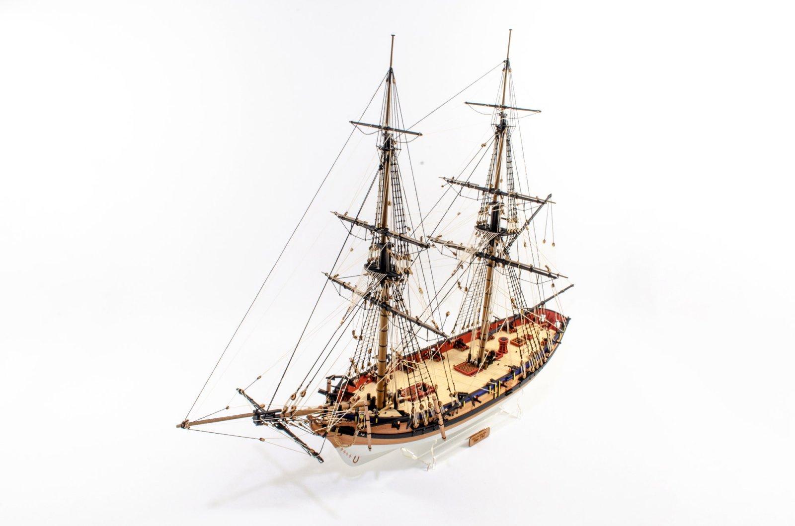 1:64 Brig Sloop HMS Flirt 1782