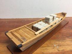 Tenma-zukuri Chabune, Edo canal boat c.1800 - 1/20 scale, by catopower