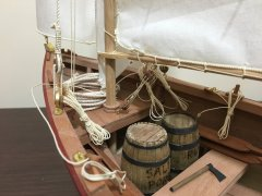 24' exploration gaff-rigged ketch by vaddoc - Scale 1:12, a Tad Roberts design