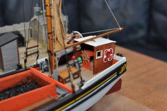 Will Everard at quay by bolin - Billing Boats 1:67