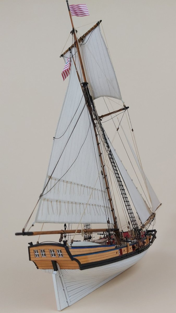 Armed Virginia Sloop 1776