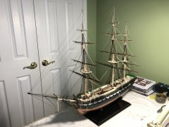Revell 1/96 USS Constitution by Bill97