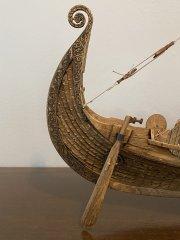 Oseberg Viking Ship - Billings - Scale 1:25
