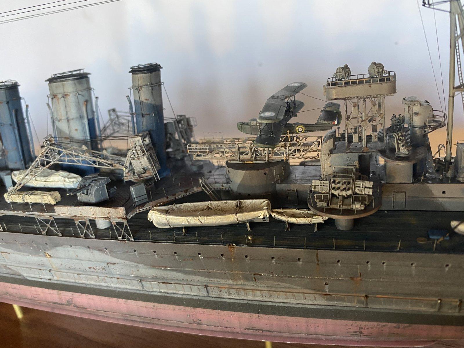 HMS Kent  1942 (1/350)