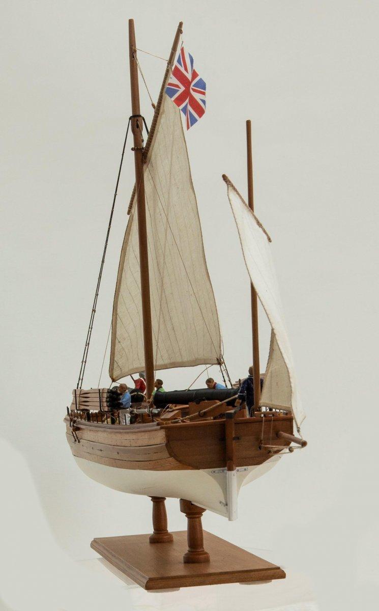 Caustic, British gunboat 1814