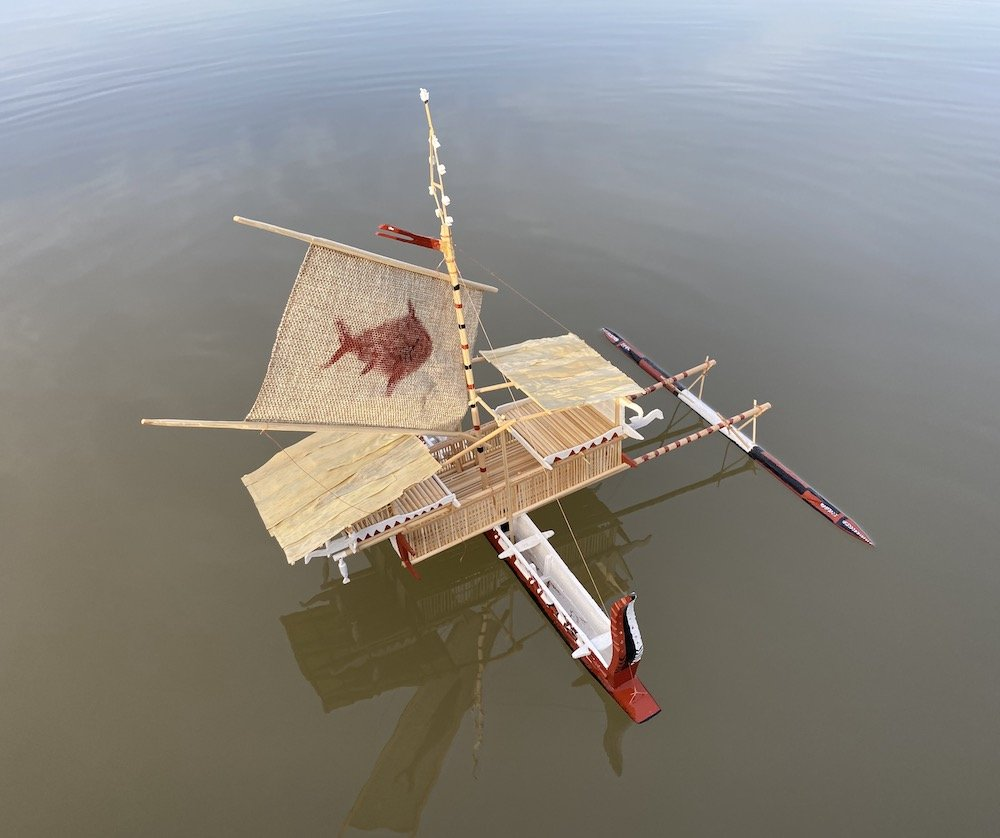 Bilbil Lalong from Astrolabe Bay, P.N.G.