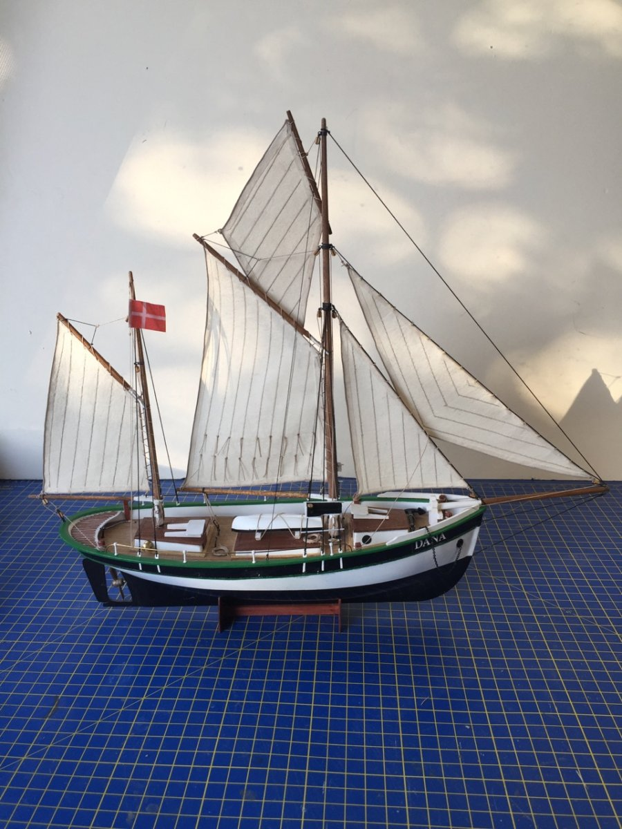 Dana, Danish Fishing Ketch by catopower - Billing Boats