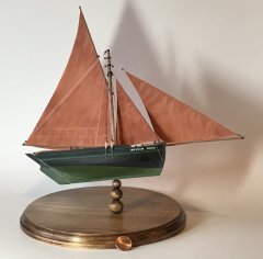 1800s Galway Hooker by Gbmodeler