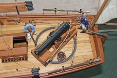 9. Caustic gunboat 1814 - aft 24pdr
