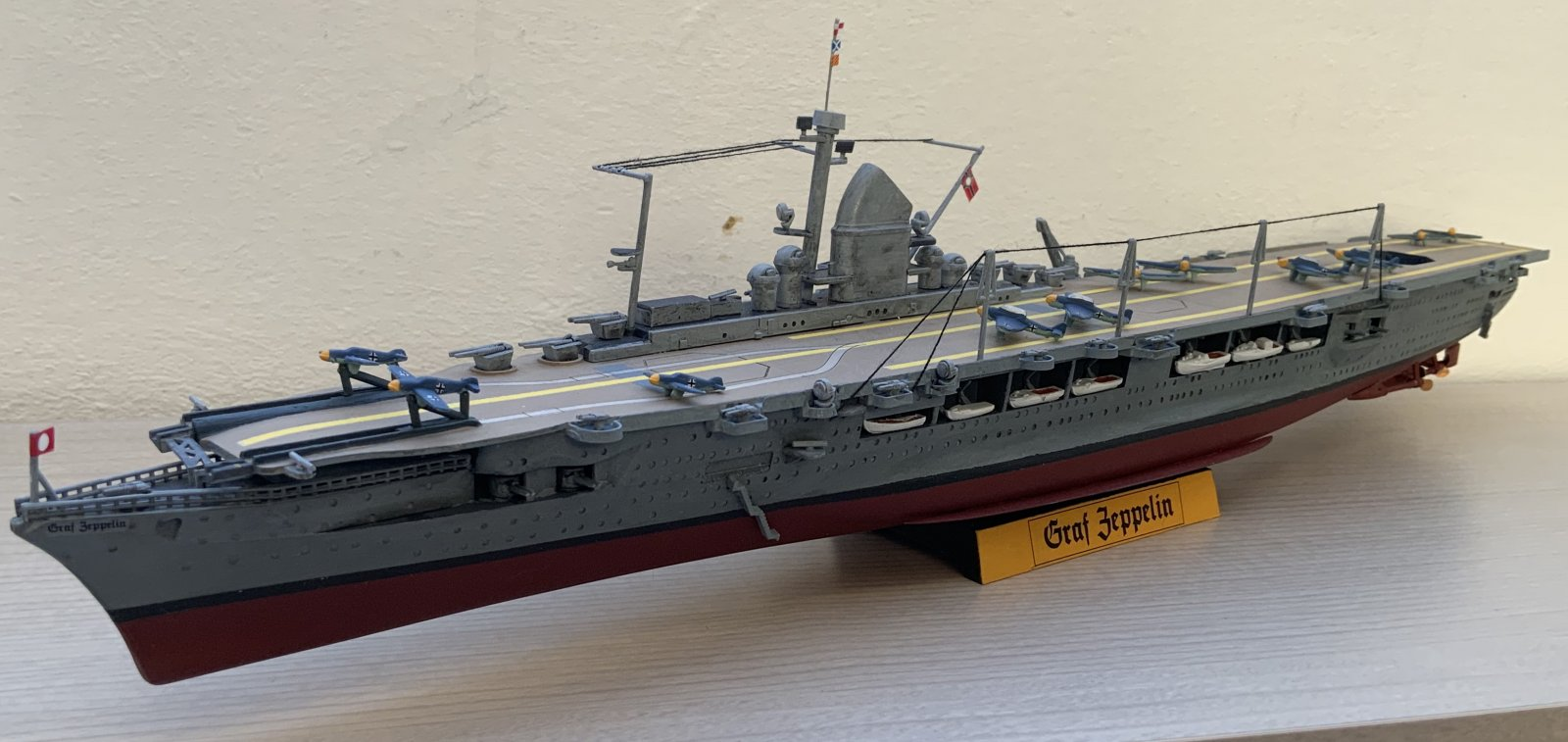 Graf Zeppelin full view (angled front)