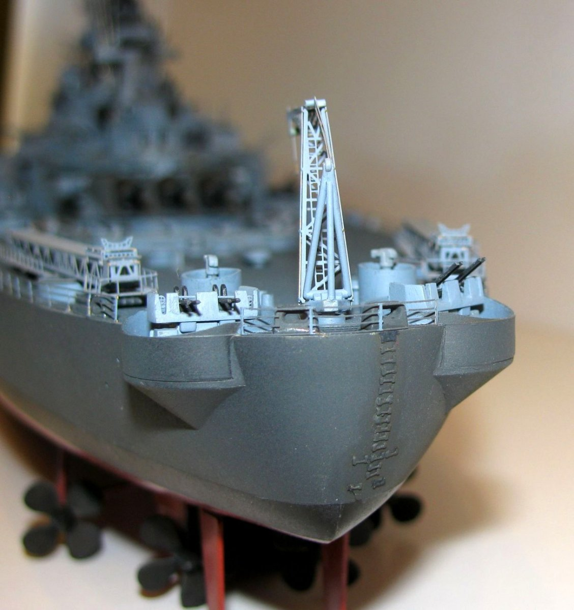 USS Iowa 1/350 Tamiya Kit Conversion
