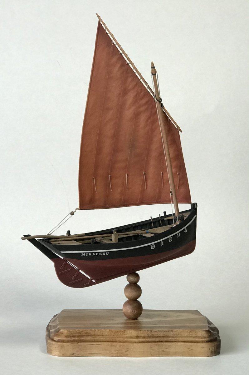 Misainier - French Fishing Boat, 1906