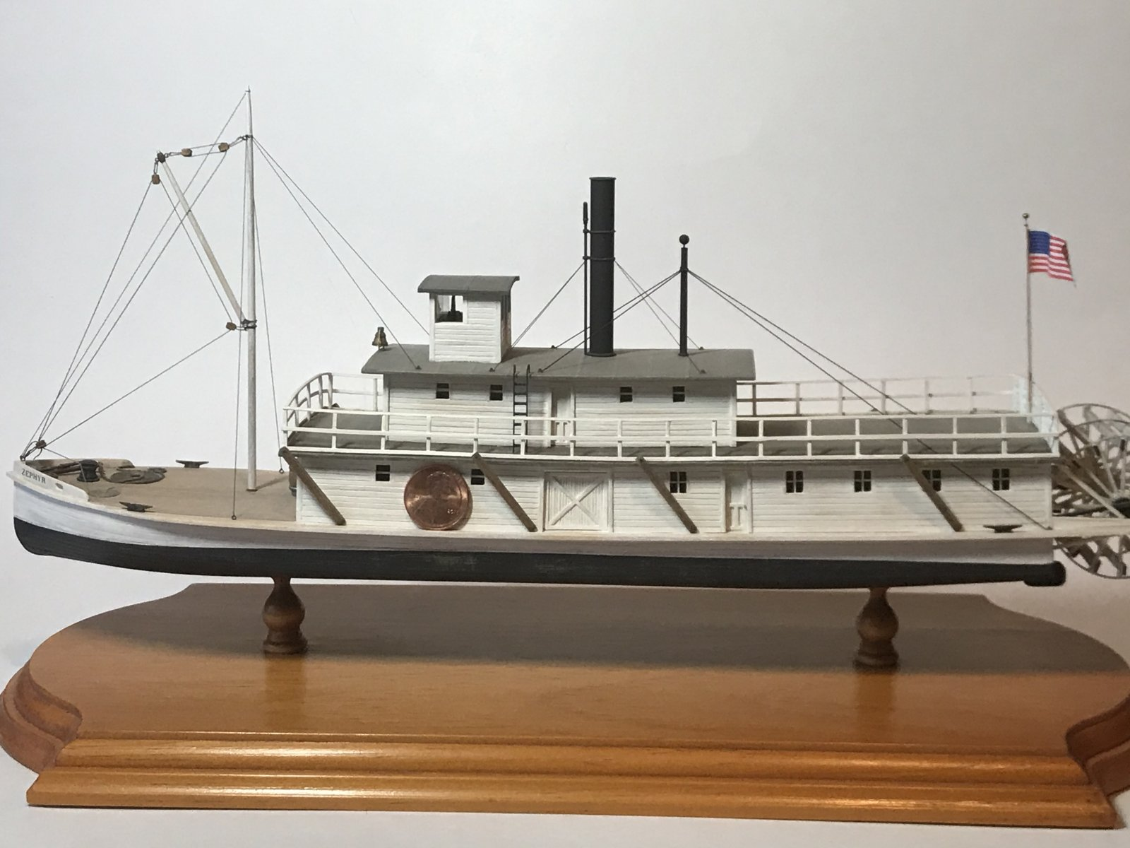 Zephyr Steam Boat - Puget Sound, Late 1800's
