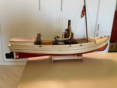African Queen by Ras Ambrioso - Billings Boats - 1/24 scale