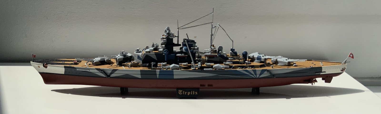 Tirpitz full view (front)