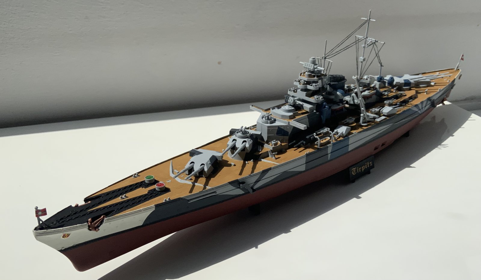 Tirpitz full view (angled front)