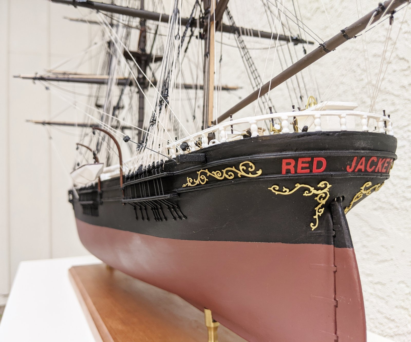 Red Jacket by JD Amdon
