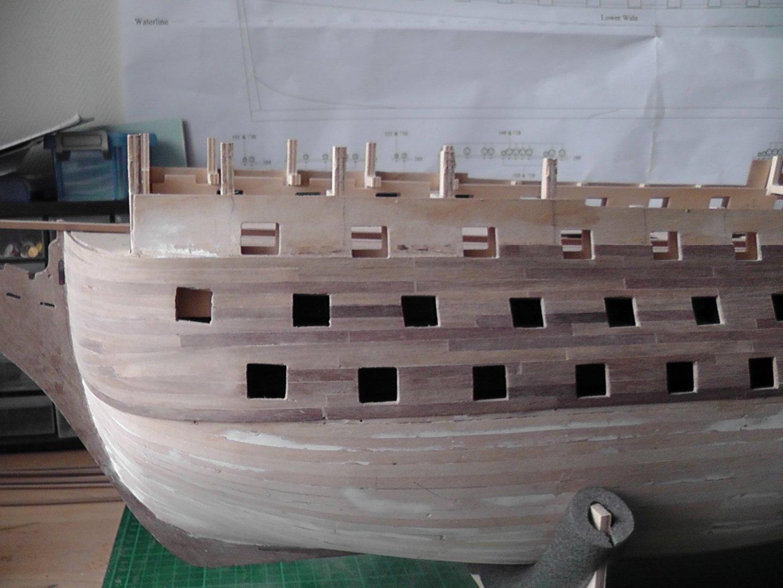 Double planking bow port side.JPG
