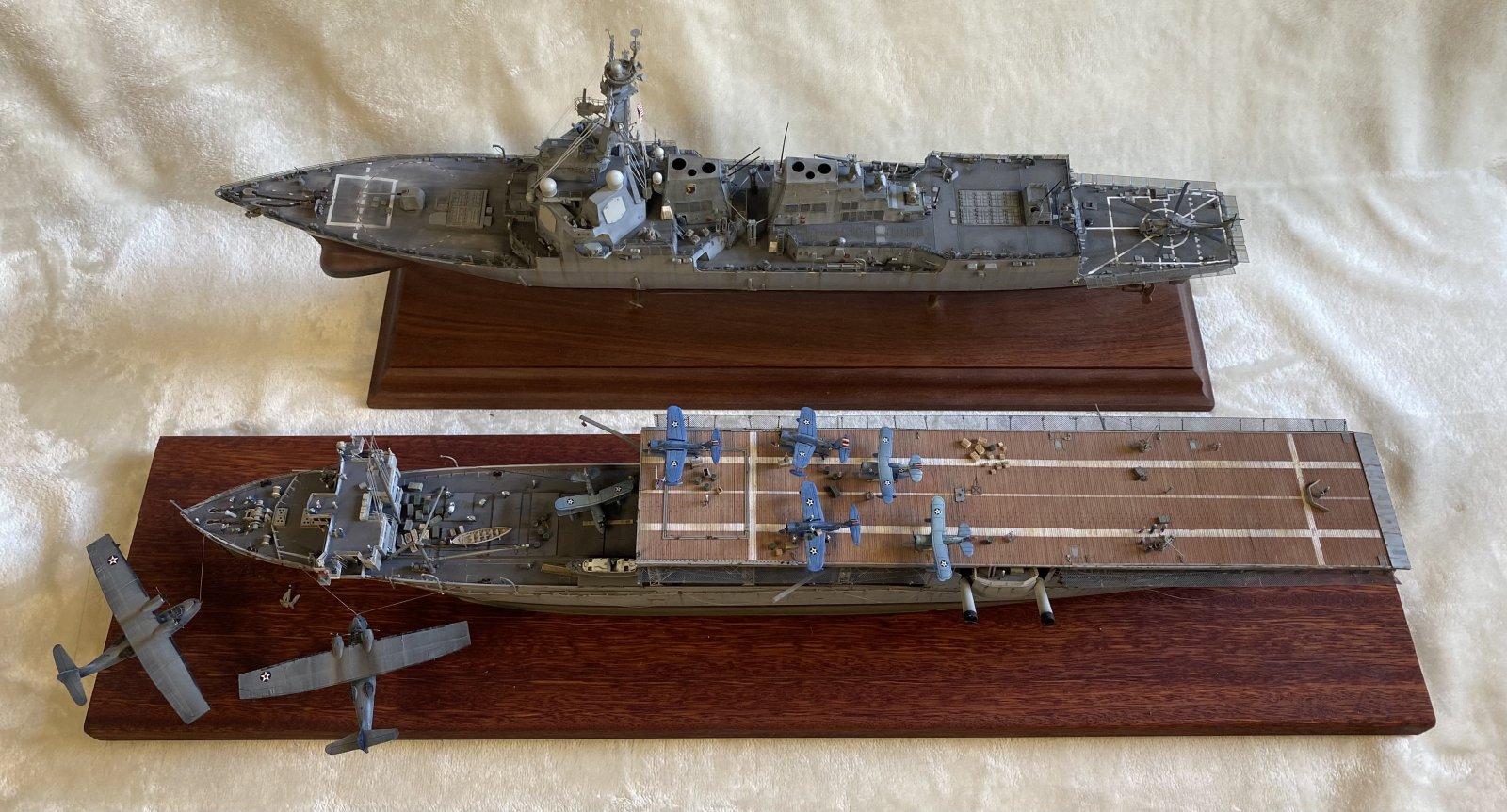 USS Langley February 1942